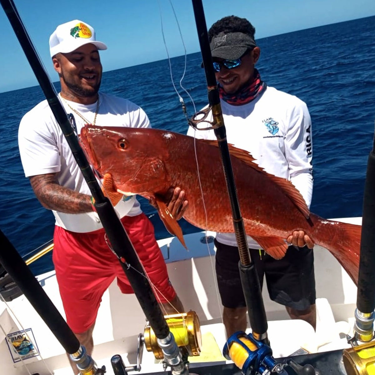 costa rica sport fishing red snapper 3